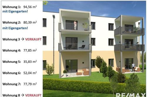Zentral gelegene 2-Zimmerwohnung  ***ERSTBEZUG***  (Top 3)