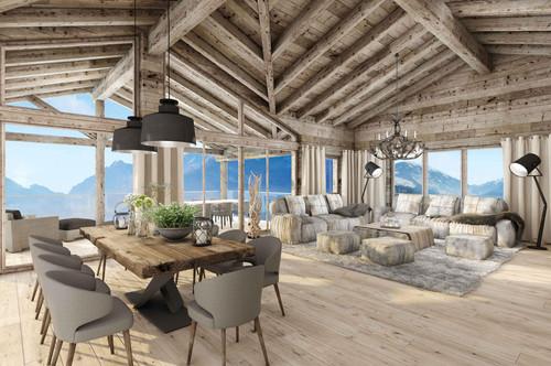 W-02E3XA Luxuriöse Ferienappartements nahe Skilift - Haus 2, Top 4