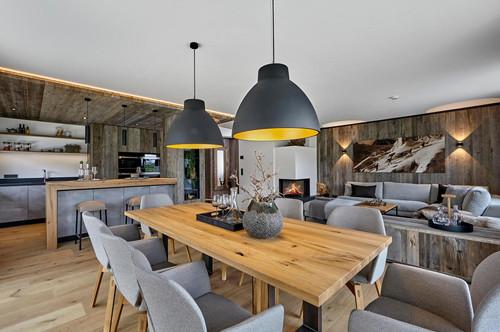 Neubau: Wohnung an der Skipiste mit Ausblick