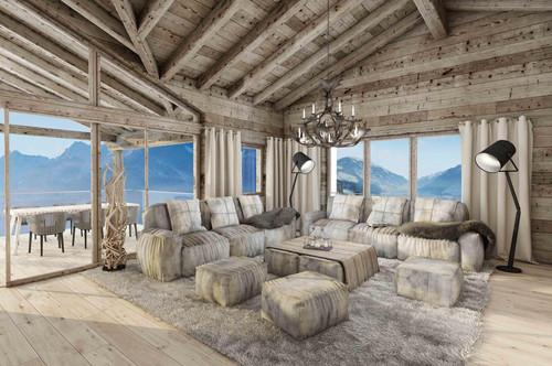 W-02E3XA Luxuriöse Ferienappartements nahe Skilift - Haus 1, Top 3