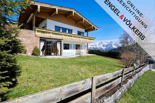W-028NIY Freizeitwohnsitz: Bezauberndes Bergchalet in einzigartiger Panoramalage