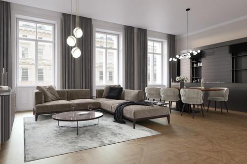 Altbau-Chic trifft eleganten Wohnkomfort