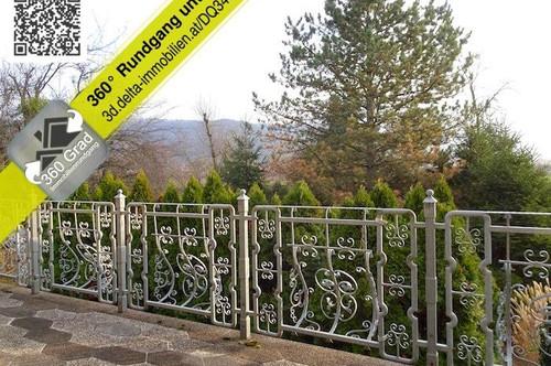 Badesiedlung Altenberg: Haus im Grünen + Terrasse + Garten + Fernblick