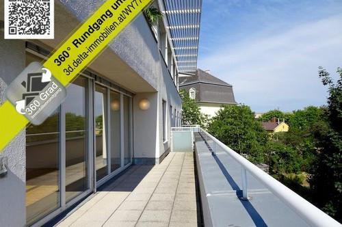 Rodaun: 3 ZI + Dachterrasse + Ruhelage + Blick ins Grüne + Garage