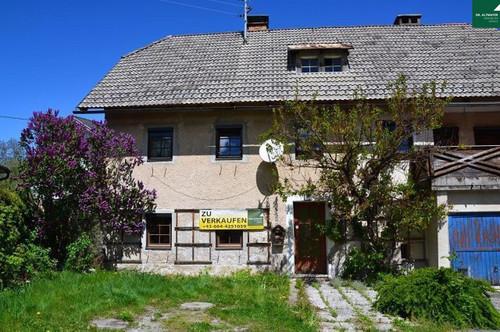 Bauernhaus im Dorfidyll