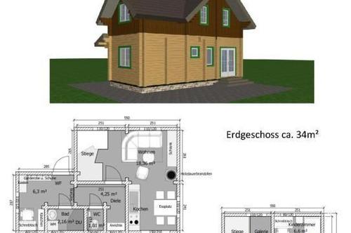 Neubauhaus inkl. Bodenplatte und Grundstück