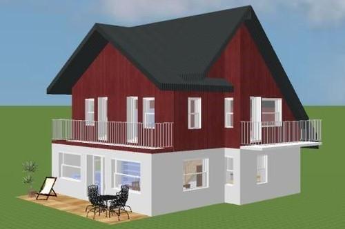 Nordland-Mansardenhaus ohne Grundstück