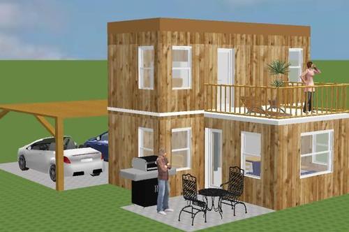 KLEIN-FAMILIEN-HAUS MOBIL SUN PLUS H 44+4 ohne Grundstück