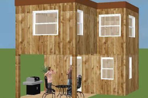 Tiny-Haus ohne Grundstück auch in Mobil-Ausführung lieferbar