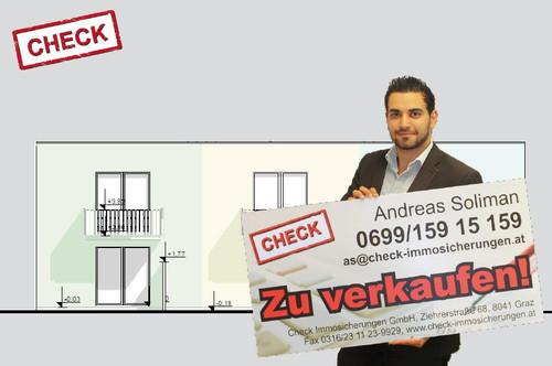 ERSTBEZUG! Neubau-Eckreihenhaus in Ziegelmassivbauweise in Graz-Wetzelsdorf!