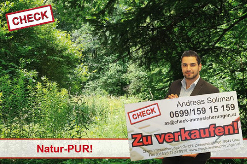 Top Lage! Großes Grundstück mit Baumbestand in Graz-Andritz!