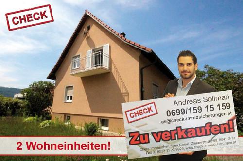 Top Lage! Haus mit 2 getrennten Einheiten in Graz-Webling!