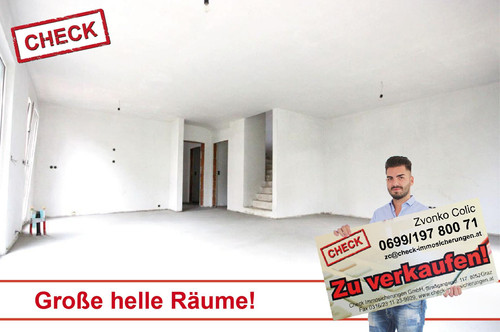 Neubau-Doppelhaushälfte mit Garten - ERSTBEZUG!