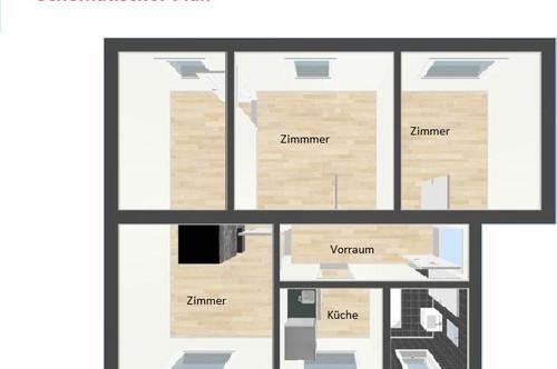 3 Zimmerwohnung im schönen Graz mit guter Verkehrsanbindung