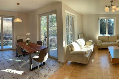 Möblierte Wohnung mit Weinbergblick