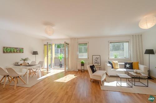 Anlegerhit: sonnige 2-Zimmer-Wohnung mit Balkon am Fuße des Schafbergs