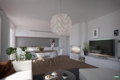 Modernes 5-Zimmer-Mehrfamilienhaus mit sehr großem Garten, Balkon und Terrasse