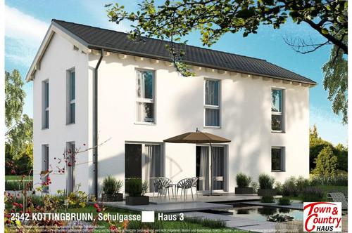 3 Einfamilienhäuser in toller Lage mitten in Kottingbrunn mit 350m² bis 1000m² Grundstück