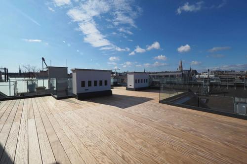 ROSSAUER GASSE | exklusive 3-Zimmer-Dachgeschoß-Wohnung mit Balkon und Dachterrasse | BELAGSFERTIG