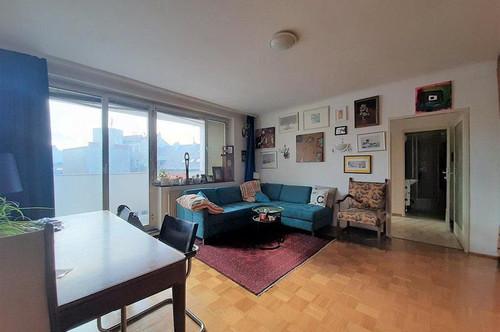 Ruhige 3-Zimmerwohnung mit Loggia und Lift nähe Augarten