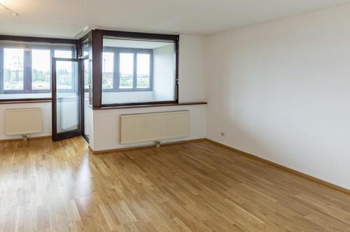 Loggia-Wohnung, Ruhig, hell, 3 Zimmer, Garage optional, 5. Liftstock, Schöner Ausblick, Sackgasse