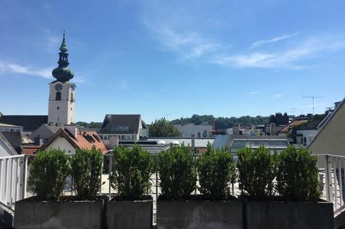 Großzügiges Wohnen mit ruhiger Dachterrasse in der Innenstadt