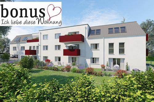 4-Zimmer Dachgeschoßtraum, schlüsselfertig mit 2 Balkonen, 2 Parkplätzen und Kellerabteil. Provisionsfrei!