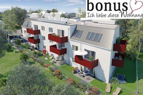 Wohntraum Gartenwohnung: 3-Zimmer mit Terrasse, Eigengarten und 2 Parkplätzen. Provisionsfrei!