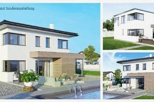 Biberbach - ELK-Design-Haus und ebenes Grundstück (Wohnfläche - 130m² & 148m² & 174m² möglich)