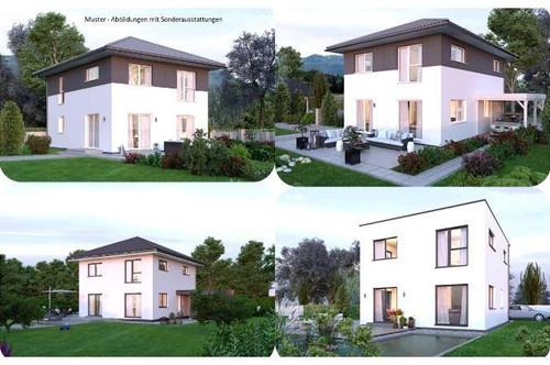 Eberndorf - ELK-Haus und Grundstück in leichter Hanglage mit Bergaussicht (Wohnfläche - 117m² - 129m² & 143m² möglich)
