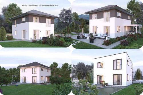 Kraig/Nahe St.Veit an der Glan - Schönes Elkhaus und ebenes Grundstück (Wohnfläche - 117m² - 129m² & 143m² möglich)