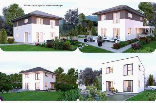Nahe Klagenfurt - Elkhaus und ebenes Grundstück mit Ausblick (Wohnfläche - 117m² - 129m² & 143m² möglich)
