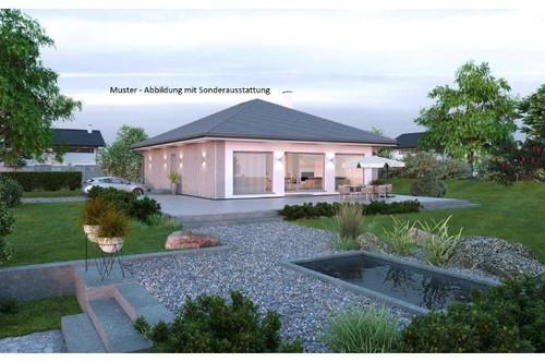 Randlage Steuerberg - ELK-Bungalow und Grundstück (Wohnfläche - 104m² & 120m² möglich)