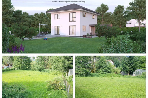 Koglerau/Nahe Urfahr-Pöstlingberg - Schönes Elkhaus und Grundstück (Wohnfläche - 117m² - 129m² & 143m² möglich)