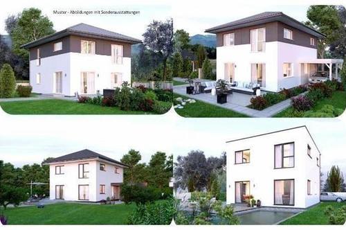 Feldkirchen in Kärnten - Elkhaus und Hang-Grundstück mit Ausblick (Wohnfläche - 117m² - 129m² & 143m² möglich)