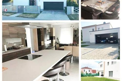 Bezirk Gänserndorf Randlage/Strasshof-Schöne Haus mit Fußbodenheizung und Garage in Top-Lage / Eckparzelle