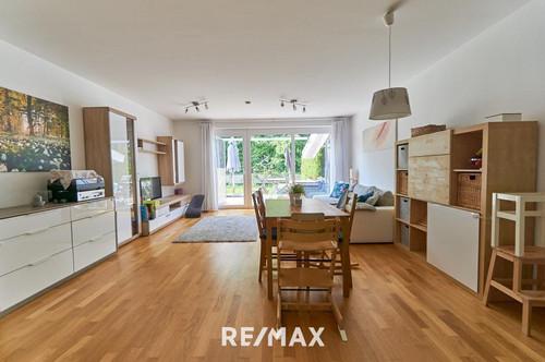Neuwertige 3-Zimmer Gartenwohnung in Ruhelage von Oberhofen zu verkaufen