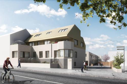 Maisonette Top 1/4 - Variante: 125,45 m2 Wohnnutzfläche mit drei getrennt begehbaren Schlafzimmern