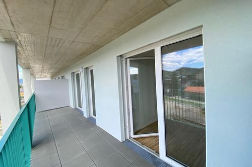 2 Zimmerwohnung mit Westbalkon und schönem Ausblick - provisionsfrei - Erstbezug