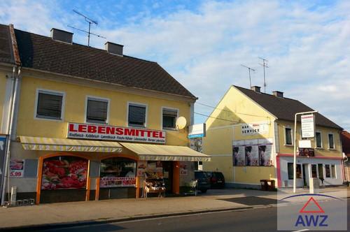 Größeres Wohn- und Geschäftshaus mit Prduktions-/Lagerhalle!