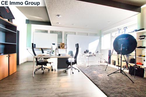 Im Sommer einen kühlen Kopf bewahren- Büro (5A) in Hörsching mit Klimaanlage + Bad