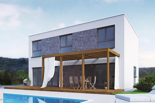 Gut geschnittenes Einfamilienhaus - Neubauprojekt - Rosental bei Baden