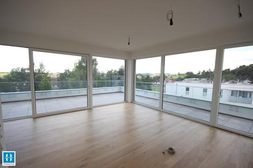 traumhafte 75,86m² Neubau-Penthouse-Wohnung mit großer Dachterrasse zu vermieten - Urban Living Peuerbach