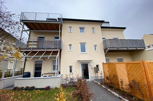 Mietwohnung mit Terrasse und Garten im Zentrum - Top 2 mit 45 m²