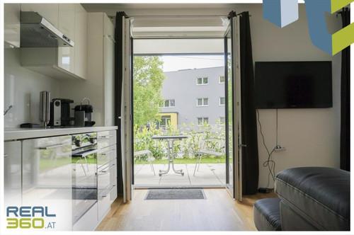 Idyllische Wohnanlage am Stadtrand - 3-Zimmer-Wohnung mit Garten in Linz-Urfahr zu vermieten!