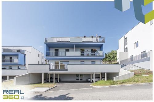 4-Zimmer-Neubauwohnung mit Fernblick + 50m² Terrasse Nahe Linz!