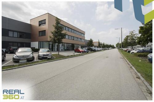 """Linzer """"Südpark"""" - Gewerbeobjekt (Objekt 10) mit Lagerhalle und Büro zu mieten!"""