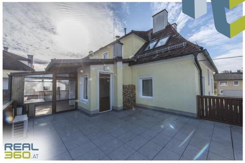 4-Zimmer-Wohnung mit ca. 22m² Dachterrasse in Neuhofen a. d. Krems zu verkaufen!