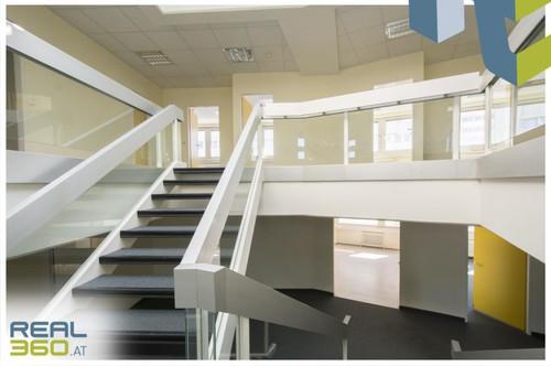Supergünstige 2-geschoßige Bürofläche zu vermieten! LENTIA City Center!