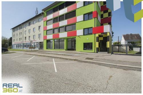 Super aufgeteilte Geschäftsfläche mit Schaufensterfront in Linz zu vermieten!